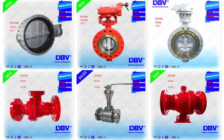 Cryogenic Butterfly Valves& Ball Valves