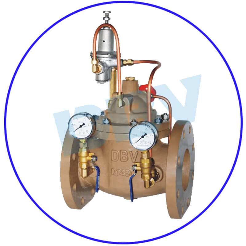 Control Valve with Floating Ball