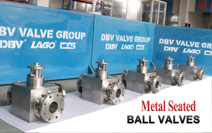 DBV has rich experience in metal seated valve