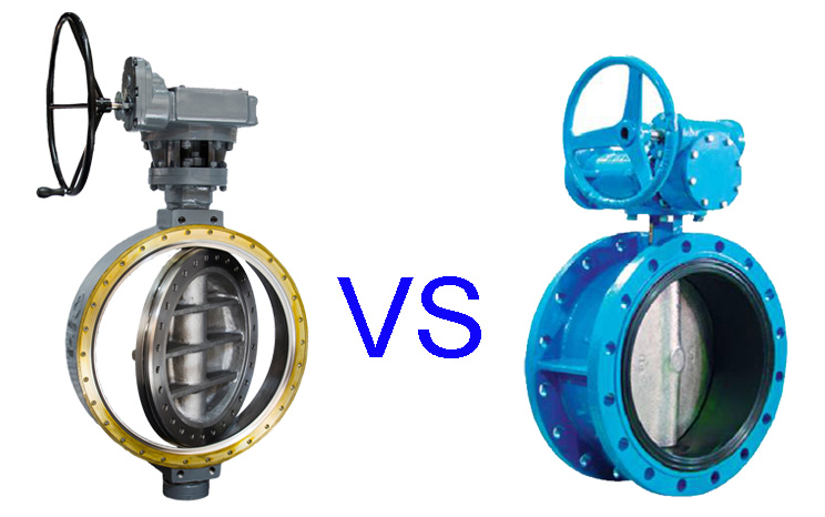 Difference between offset/eccentric and concentric butterfly valve