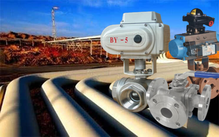 Features of Three Way Ball Valve