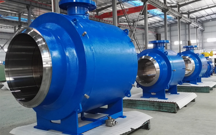 Structure Features of Fully Welded Ball Valves