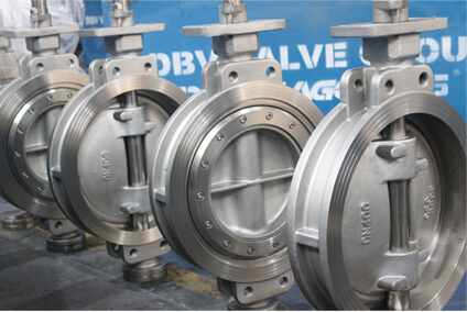 Bare Shaft Butterfly Valve