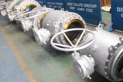 Wormgear Ball Valve