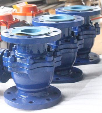 Industrial WCB Ball Valve