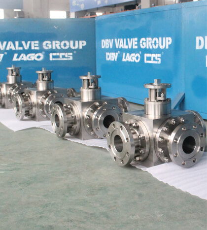 Ball Valve-Three Way