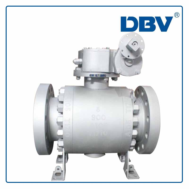 Forged High Pressure Trunnion Mounted Ball Valve