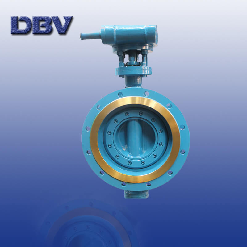 Manual WCB Flange Triple Offset Butterfly Valves
