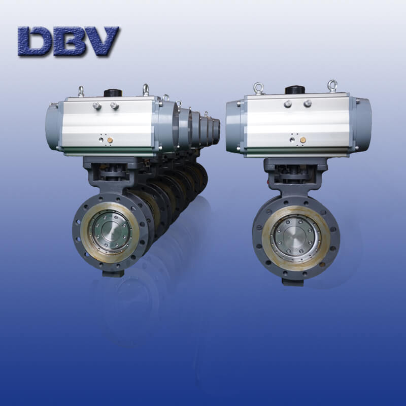 Wholly metal to metal Butterfly Valves PN10 WCB