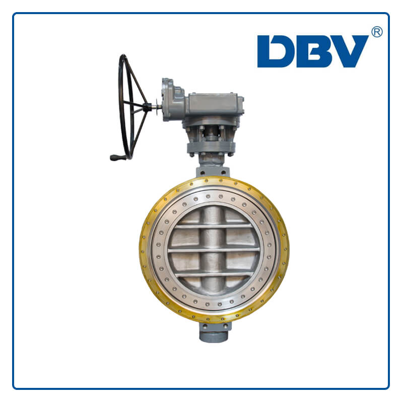 Metal to metal Wafer Butterfly Valve
