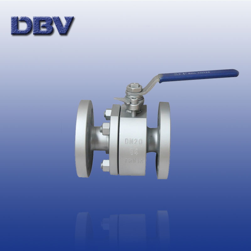 Lever Floating forged Ball Valve with casting steel