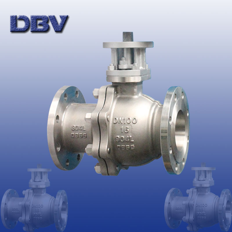 Stainless steel Ball Valve DN100 Flanged 904L