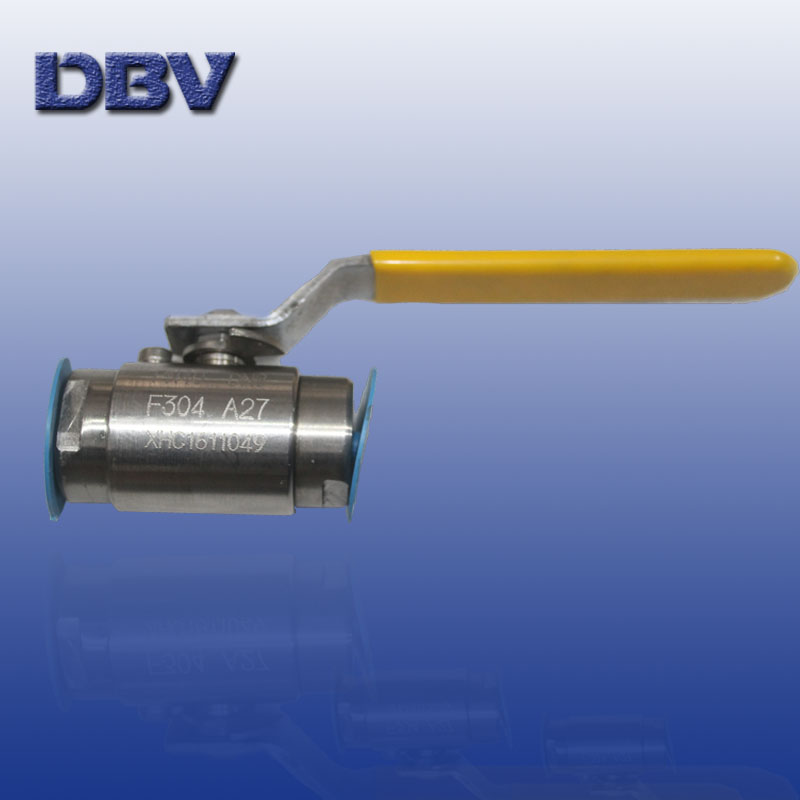Small Size Ball Valve/Screw end ball vavle /Clamped  ends ball valve