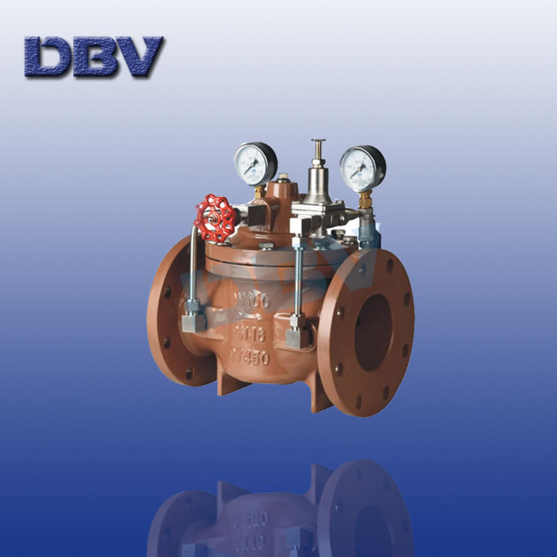 Water Pressure Reducing Control Valves