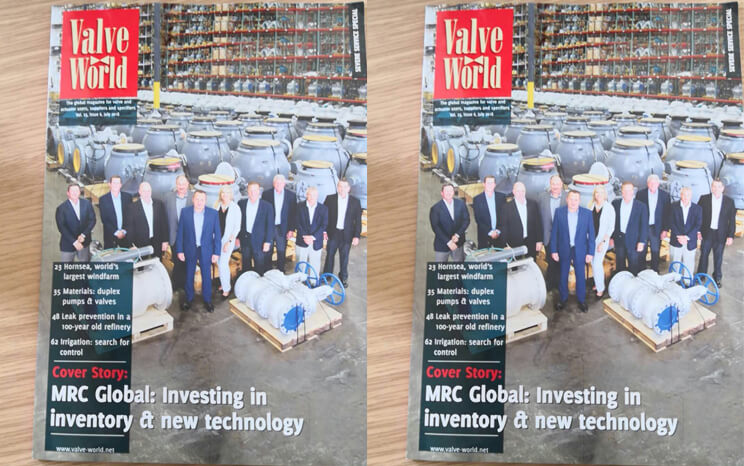 Great news!!! DBV join the Valve World magazine