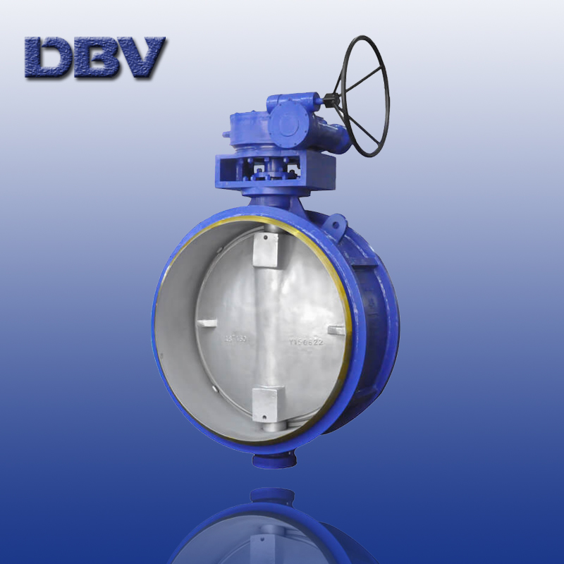 Worm Gear Class150 48'' Buttwelding Triple Offset Butterfly Valves