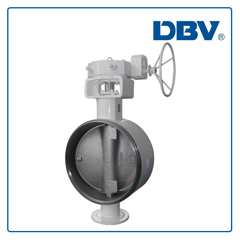 Triple Offset metal to metal seat Butterfly Valves DN900 PN25 BW