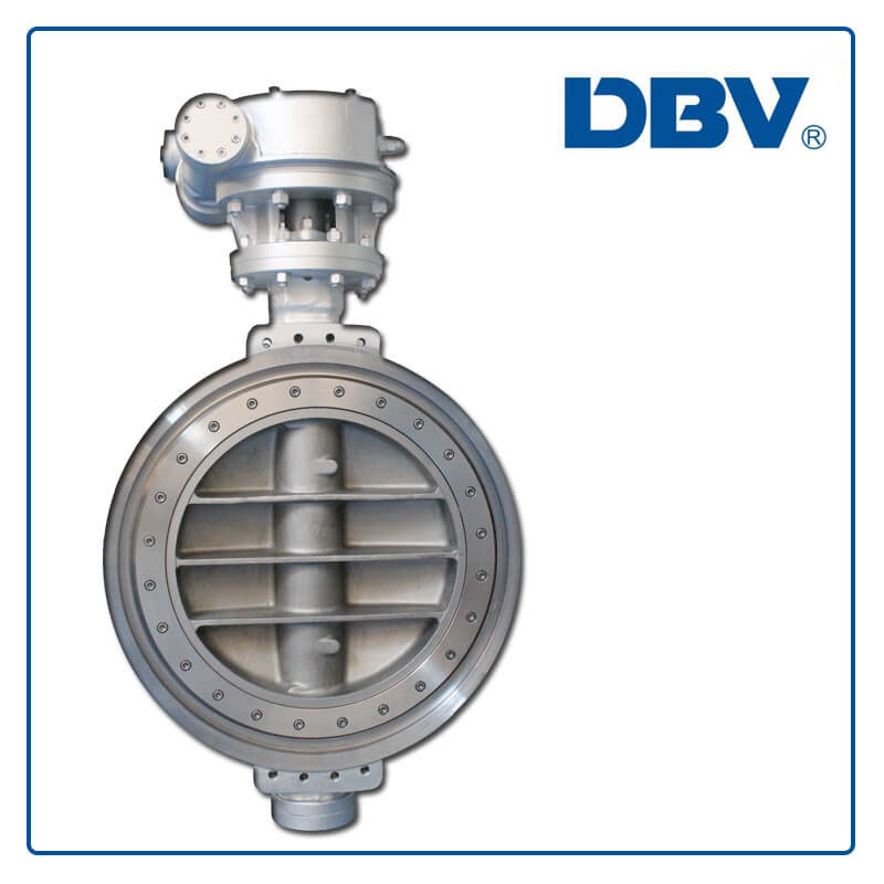 Worm Gear WCB Wafer Triple Offset Butterfly Valves