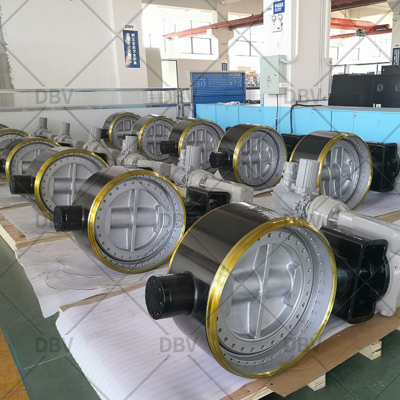 Metal to metal three eccentric butterfly valve