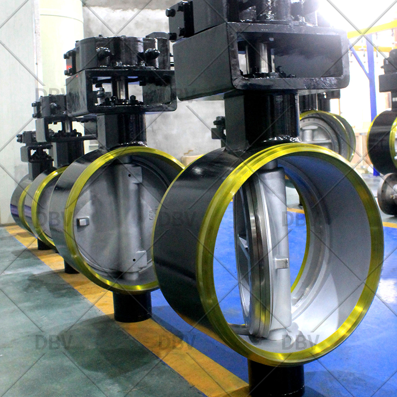 Triple offset butterfly valve high quality factory in China