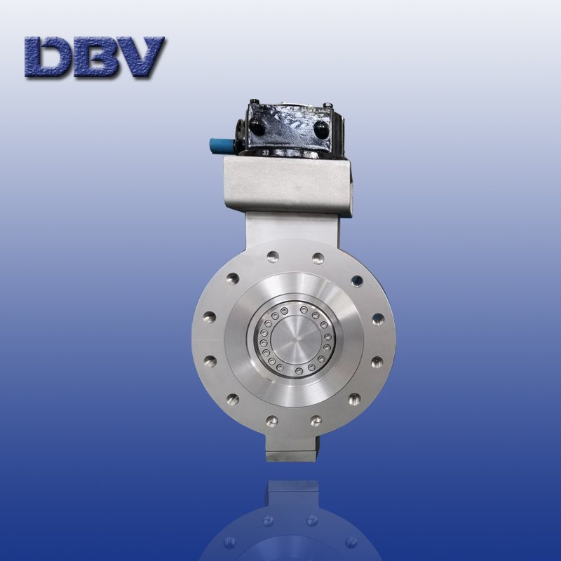 Fully forged Lug type metal to graphite butterfly valve with special material F55