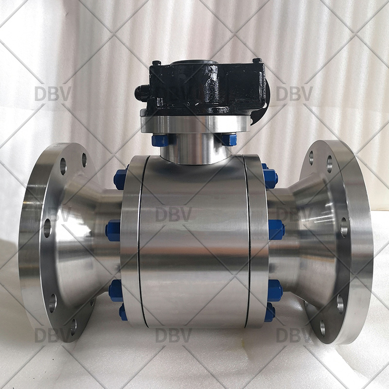Good quality trunnion mounted ball valve manufacturer