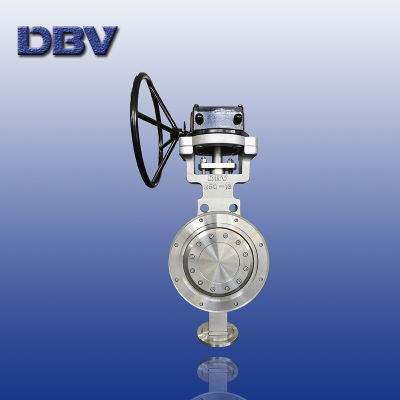 Triple eccentric/Offset metal to metal seat wafer Butterfly Valves DN250 PN16