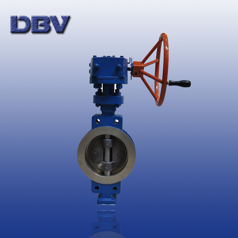 Monel K500 6 CL300 Wafer Butterfly Valve