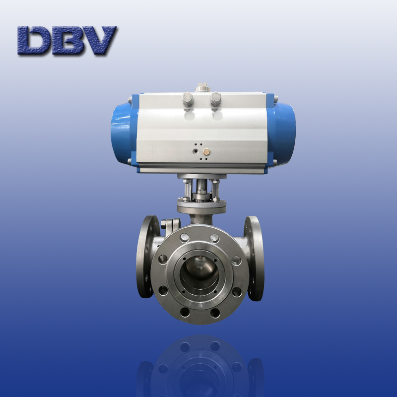 3 Ways T-type stainless steel Ball Valve